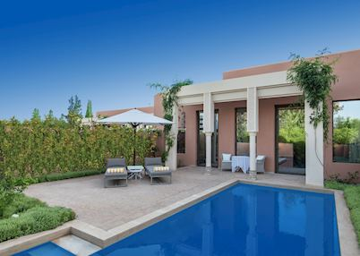 Deluxe villa with private pool, The Oberoi Marrakesh