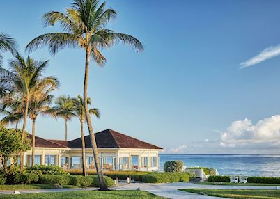 The grounds at The Ocean Club
