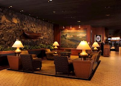 Lobby at Hotel Captain Cook, Anchorage