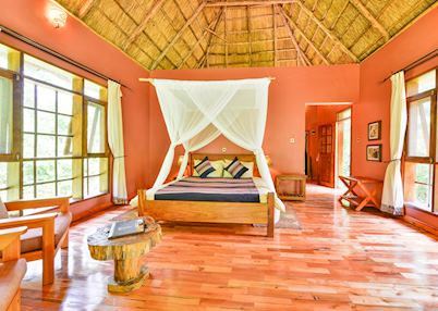 Luxury cottage at Primate Lodge