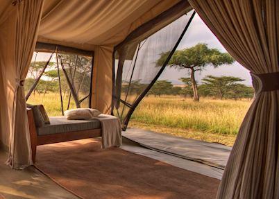 Guest tent,Asilia Naboisho Camp,Masai Mara