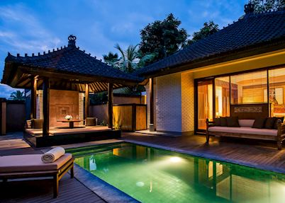 One bedroom pool villa private pool, Chedi Club Tanah Gajah