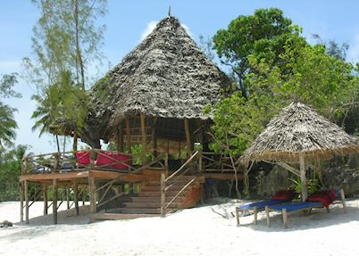 Shooting Star Lodge, beach bar