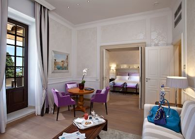 The Ashbee suite, The Ashbee Hotel, Taormina