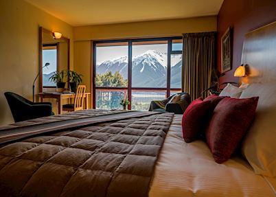 Mountain View Room, Wilderness Lodge, Arthur's Pass
