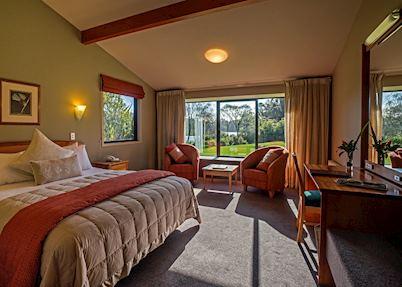 Rainforest Room, Wilderness Lodge Lake Moeraki