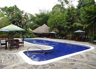 Swimming pool, The Lodge at Pico Bonito