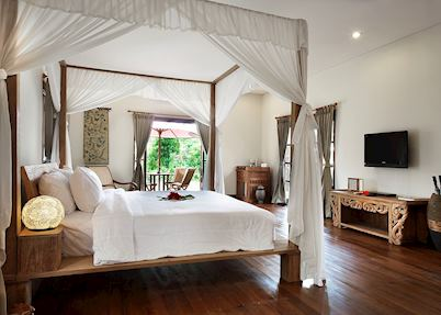 Grand Garden bedroom, Plataran Borobudur Resort & Spa, Yogyakarta