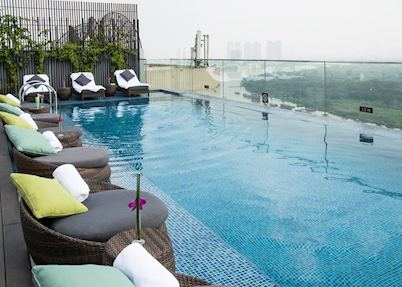 Pool area, Liberty Central Saigon Riverside
