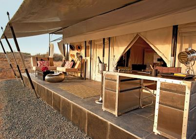 Tent at Jawai Leopard Camp