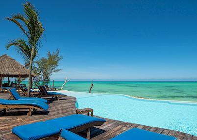 Pool at Pongwe Beach Hotel