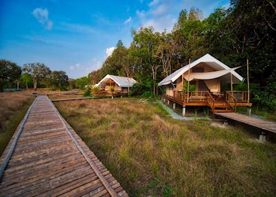 Cardamom tented camp, Koh Kong area