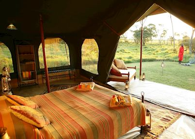 Elephant Pepper Camp Honeymoon suite, Masai Mara