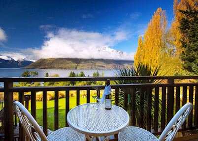 View from the Tahi Room at Hidden Lodge