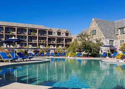 Pool at Harborside Hotel & Marina
