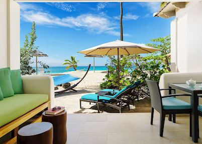 Sea Grape Beach Suite Patio, Spice Island Beach Resort, Grenada