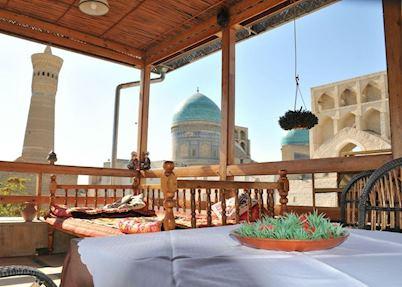 View from Veranda, Zargaron Hotel