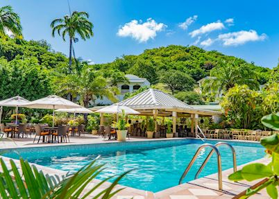 Pool at Blue Horizons Garden Resort, Grenada