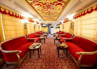 Maharani restaurant, Palace on Wheels , Delhi