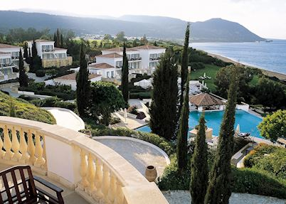 View from the hotel, Anassa Hotel