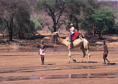 Camel safari, Samburu Intrepids
