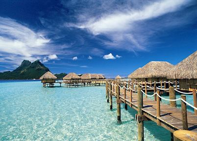 Overwater Bungalows, Pearl Beach Resort, Bora Bora