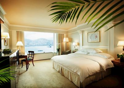 Harbour view room, InterContinental Grand Stanford Hotel, Hong Kong