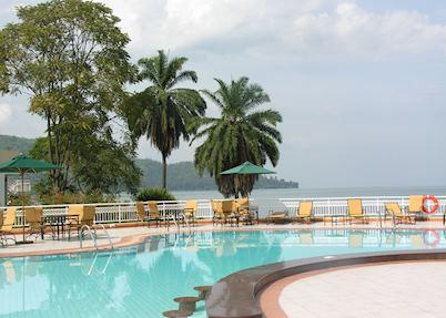 Pool at Lake Kivu Serena