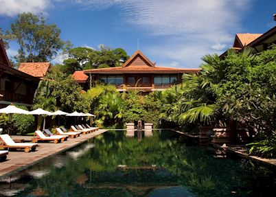 Pool at La Residence d'Angkor Hotel, Siem Reap