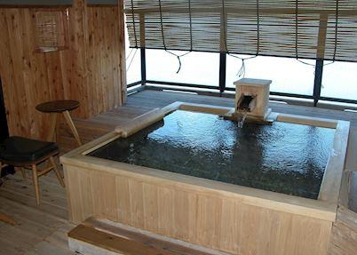 Private hot spring bath, Hina no Za