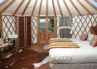 Standard room, Patagonia Camp, Torres del Paine National Park