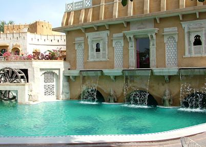 Ajit Bhawan swimming pool