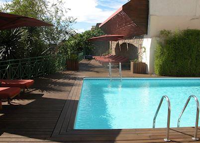 Pool at The Royal Palissandre, Antananarivo