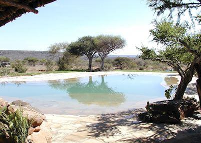The pool at Sosian