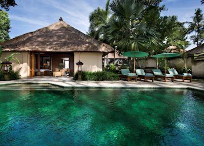 Pool suite, Amandari, Ubud