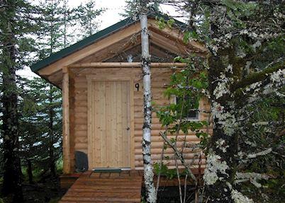 Cabin at Kenai Fjords Glacier Lodge, Seward
