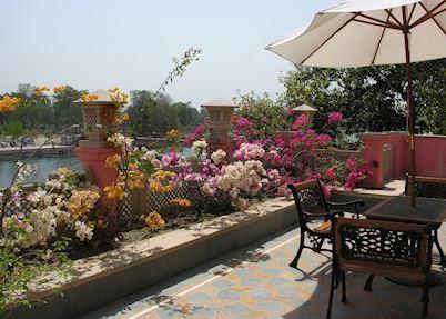 View from Haveli Hari Ganga, Haridwar