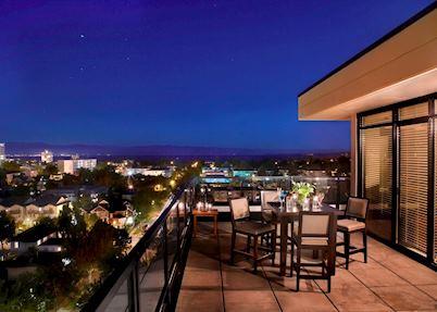 Balcony at the Oswego Hotel