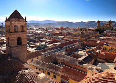 Rooftops of Potosí