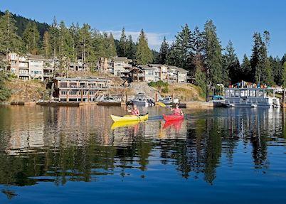 Kayaking at Painted Boat Resort Spa & Marina