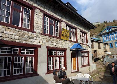 Typical tea house lodge, Nepal