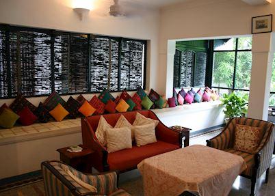 Reception, The Bangala, Chettinad