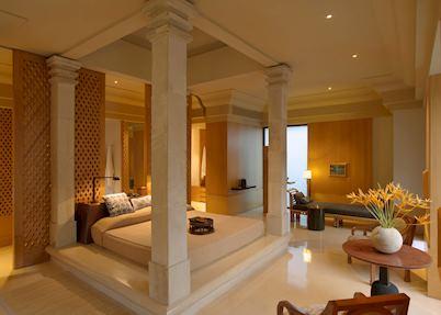Suite interior, Amanjiwo, Yogyakarta