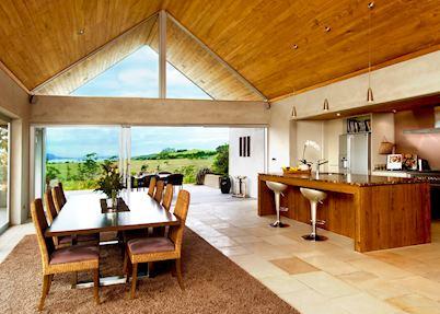 The dining room, Takatu Vineyard & Lodge, Warkworth