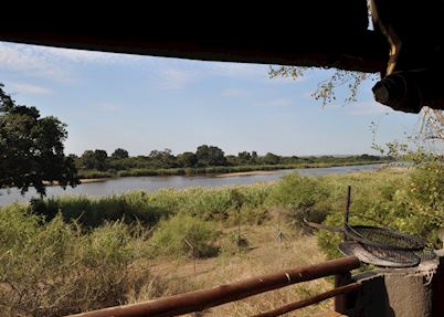 Tent on the perimeter LST2U, Lower Sabie Restcamp, Southern Sector - Kruger National Park