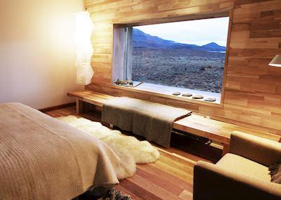 Standard Patagonian Double (bath in bedroom), Tierra Patagonia