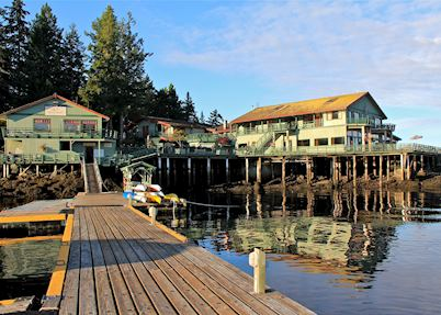 April Point Resort and Spa, Quadra Island