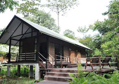 Garden bungalow, Mulu Park Chalets, Mulu National Park