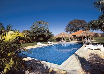 Pool at Hotel Porto Jofre