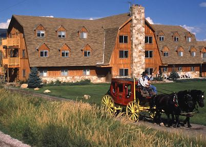 Rockin R Ranch and stage coach